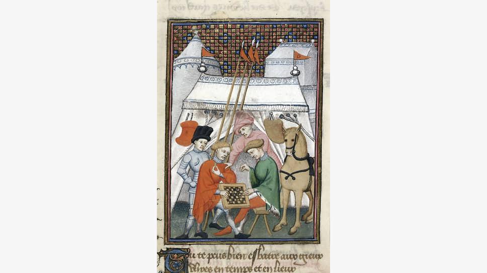 Иллюстрация к рукописи «Послание Офеи Гектору» Кристины Пизанской, 1410–1414