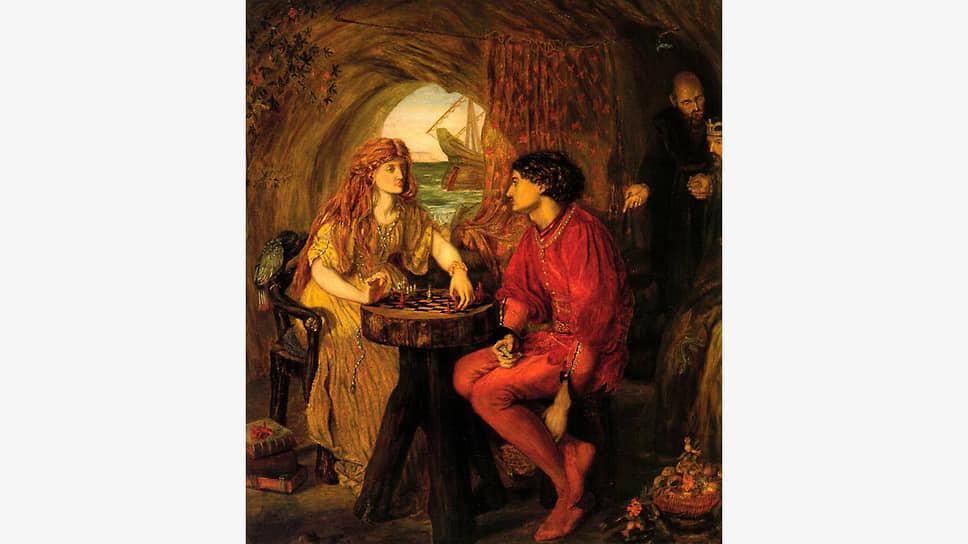 Люси Мэдокс Браун. «Фердинанд и Миранда играют в шахматы», 1871