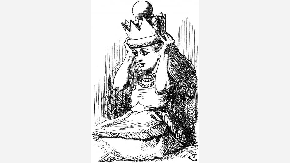 Джон Тенниел. Иллюстрация к книге «Алиса в Зазеркалье», 1872