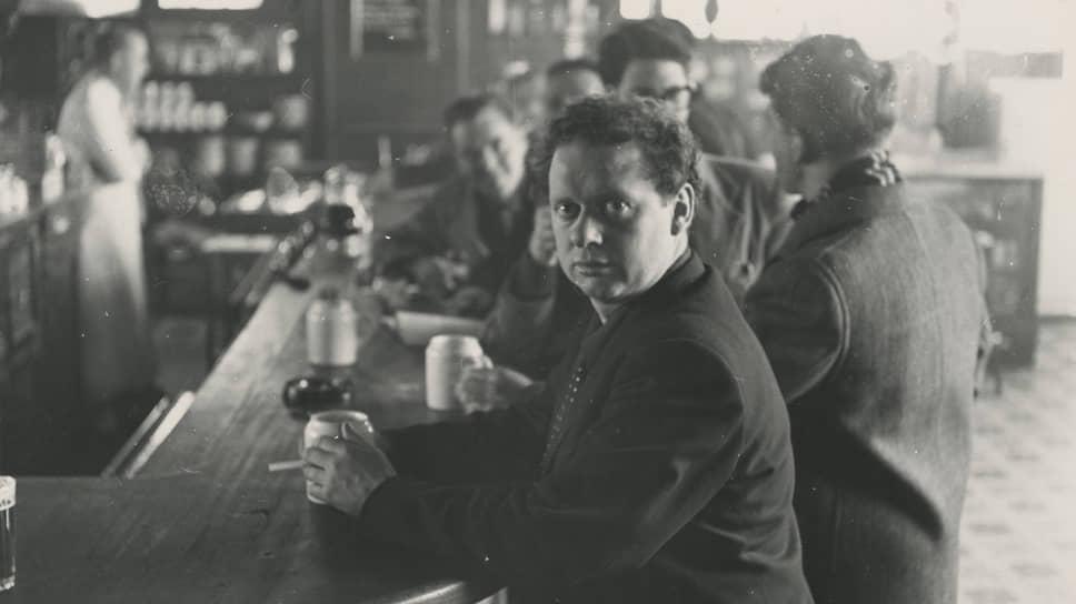Дилан Томас в White Horse Tavern, 1952