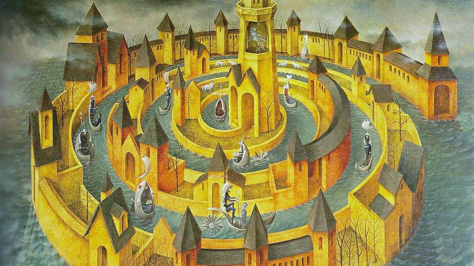 """Ремедиос Вара Уранга. """"Лабиринт"""", 1940-е"""