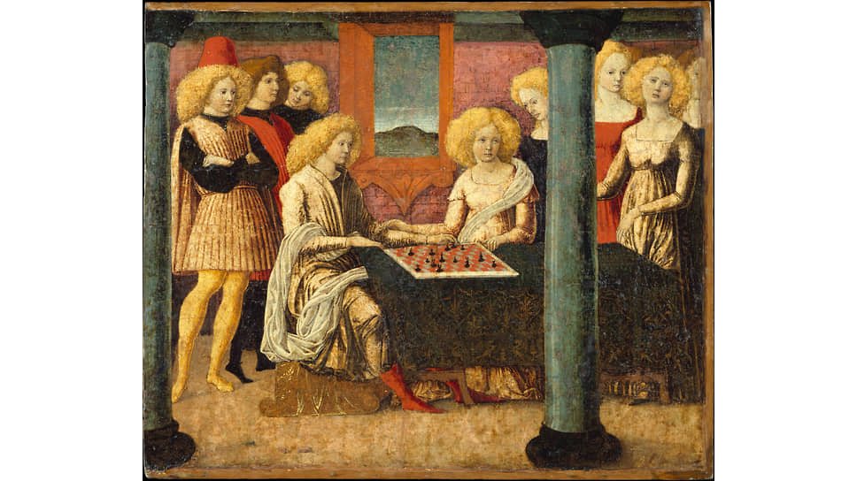 Либерале да Верона. «Шахматисты», около 1475