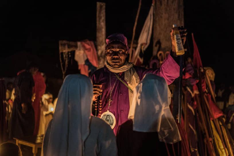 Рождественская служба в общине «Легиона Марии» в Кении, 2017