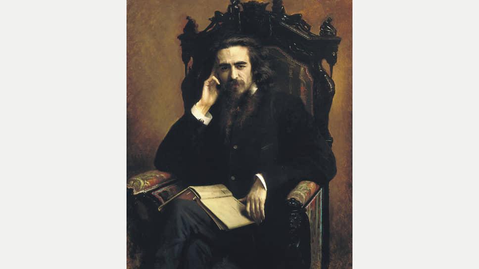 Иван Крамской. «Портрет философа Владимира Сергеевича Соловьева», 1885