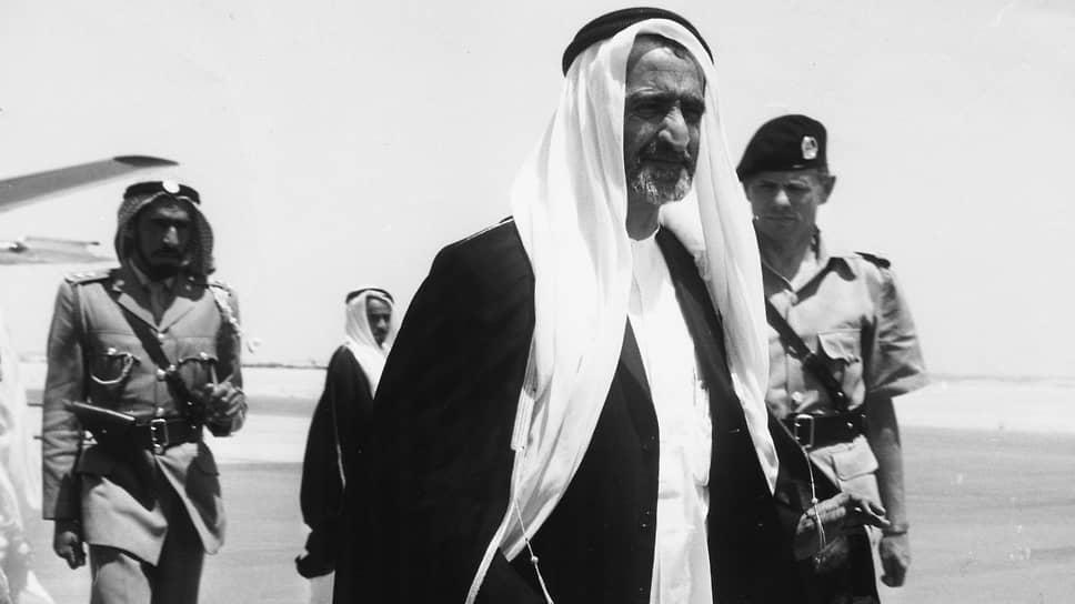 Рашид бен Саид аль-Мактум, 1960