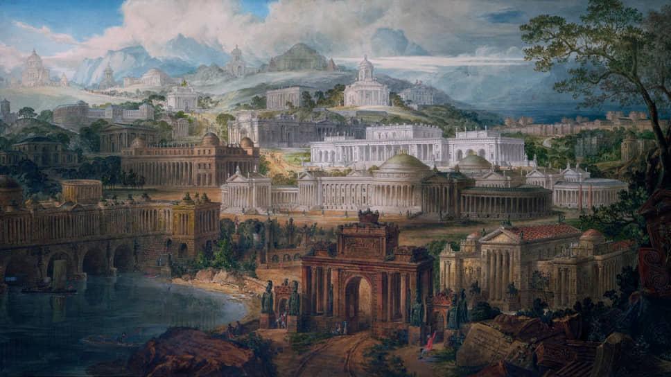 Джозеф Майкл Ганди. «Архитектурные образы фантазий радостной зари юности и мечтаний заката жизни», 1820