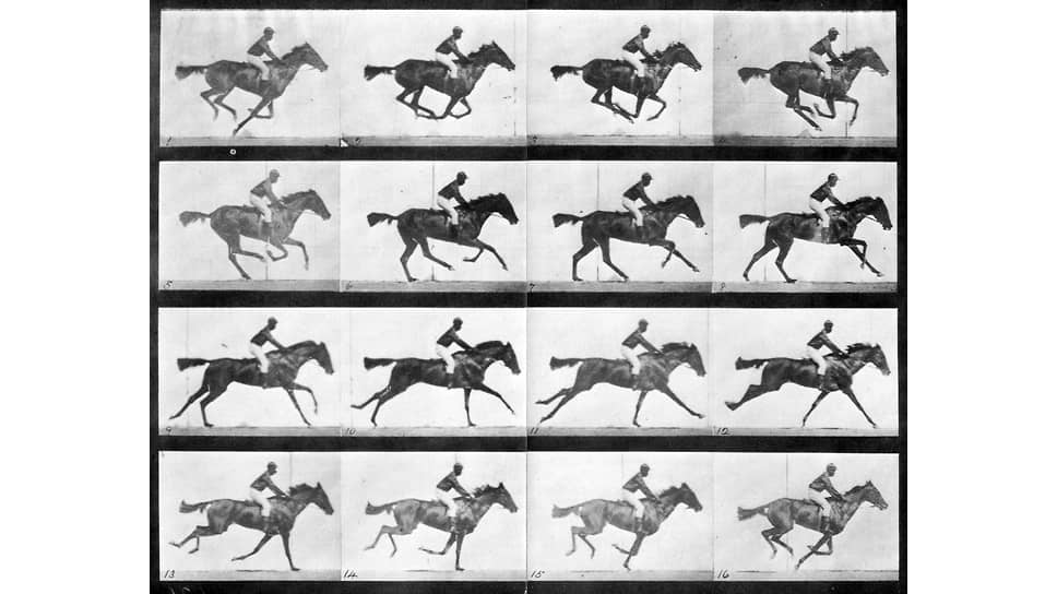 """Edward Muybridge. From the series """"Man and Animal in Motion"""", 1887"""