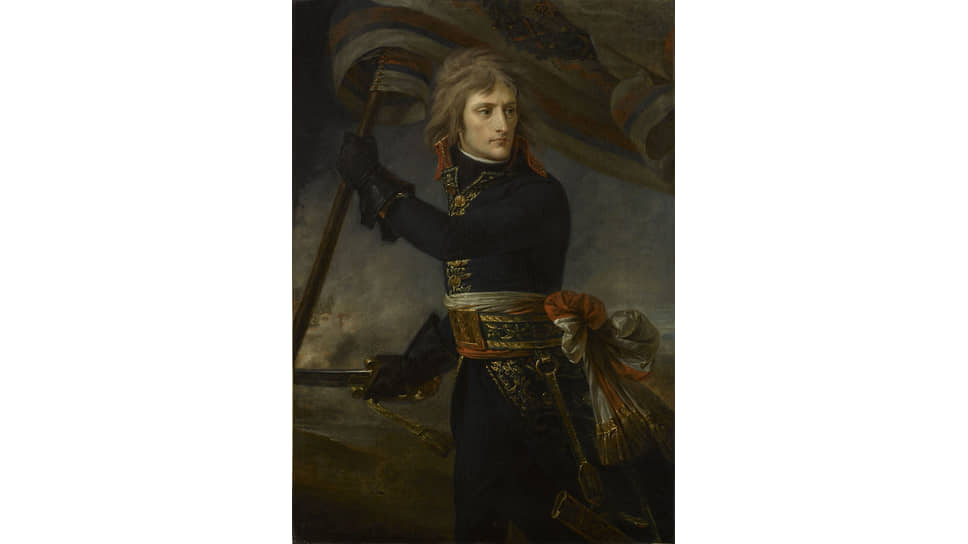 Антуан-Жан Гро. «Наполеон Бонапарт на Аркольском мосту», 1796–1797