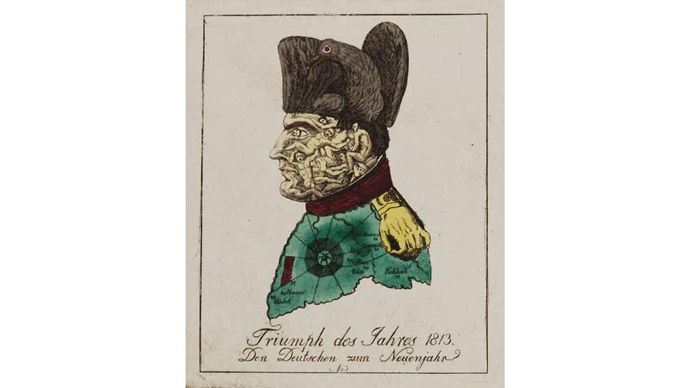 Иоганн Михель Фольц. «Триумф 1813года», 1813–1814