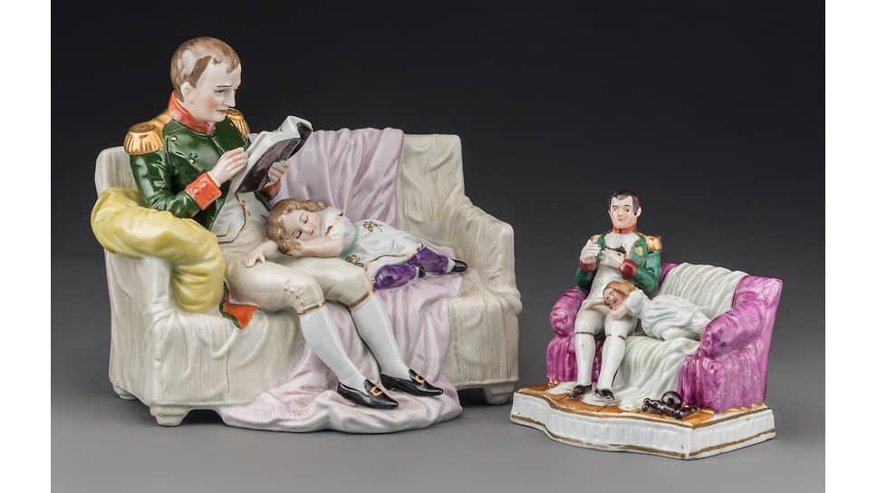 «Наполеон читает ребенку». Статуэтки мануфактуры Шайбе-Альсбах, начало XXвека