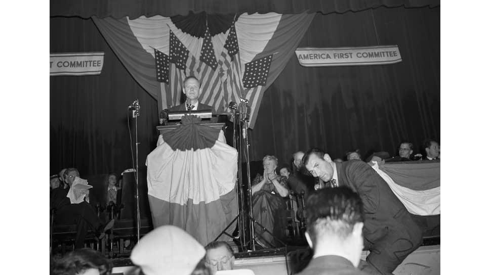 Чарльз Линдберг, 24 апреля 1941