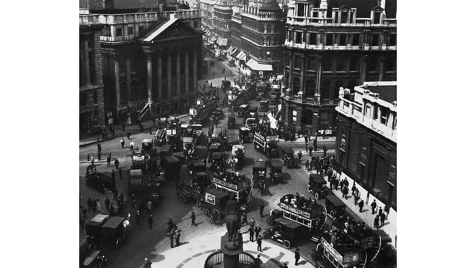 Лондон, около 1910