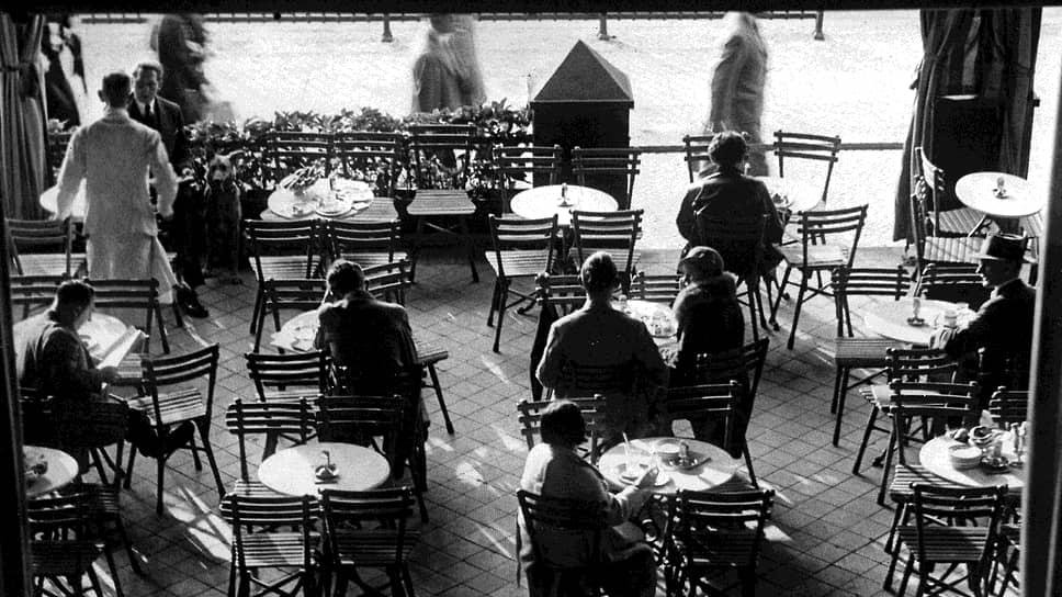 Romanisches Cafe, Берлин, 1925