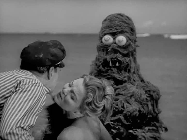 «Существо из моря с привидениями». Режиссер Роджер Корман, 1961