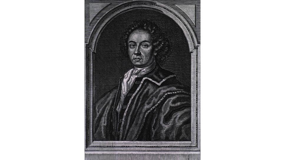 Иоганн Конрад Диппель, гравюра начала XVIIIвека