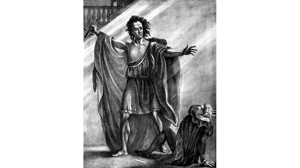 Томас Кук в спектакле «Презумпция, или Судьба Франкенштейна», 1823