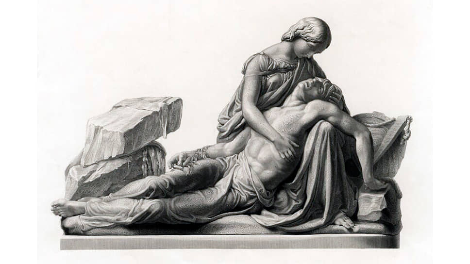 Джордж Стодарт. «Мэри и Перси Шелли», 1853