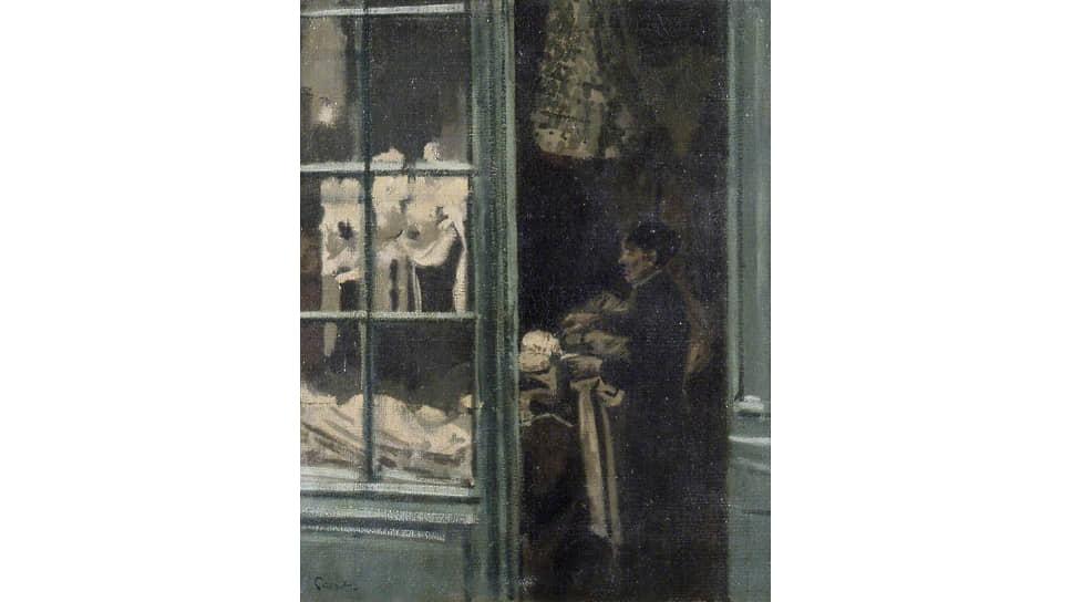 Уолтер Сиккерт. «Прачечная, Дьеп, Франция», 1885