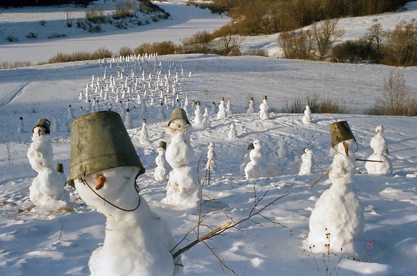 «Снеговики», 2000.
