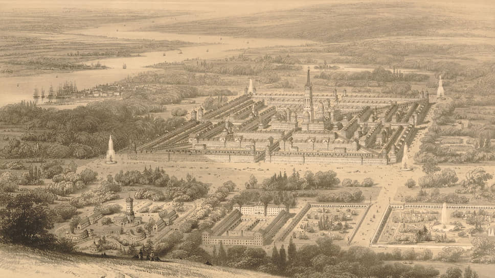 Город Виктория, литография, 1841–1855