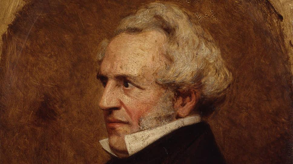 Клара Си Лейн. «Портрет Джеймса Силка Бэкингема», около 1850