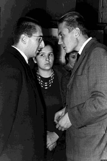 Витторио Страда, Клара Страда и Евгений Евтушенко, 1959