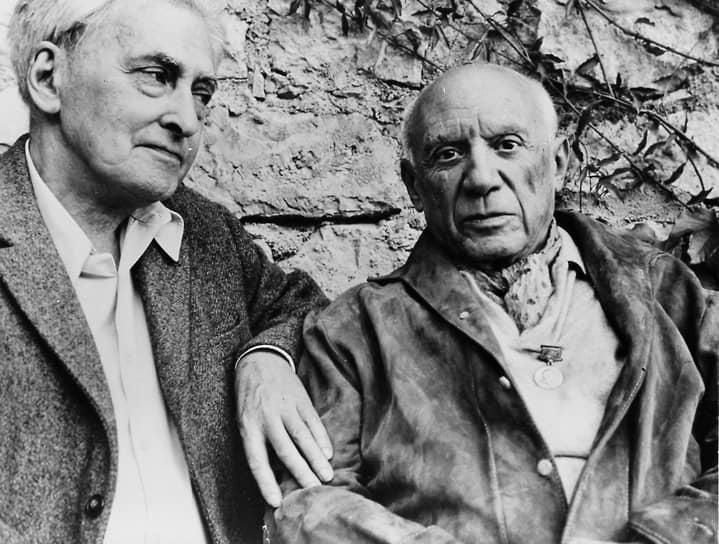 Илья Эренбург и Пабло Пикассо, 1966
