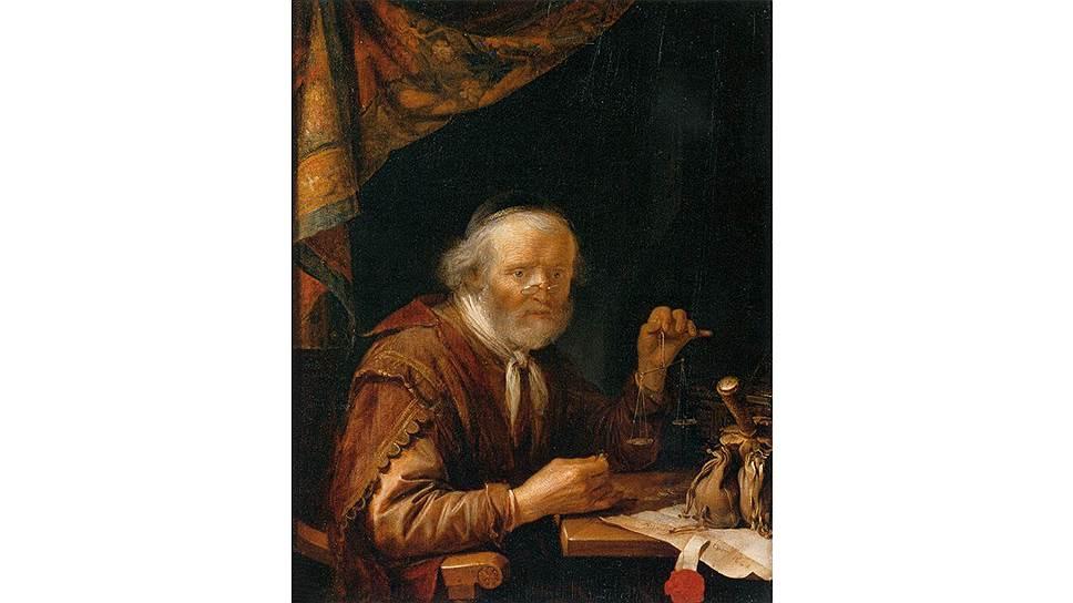 Герард Дау. «Ростовщик», 1664год