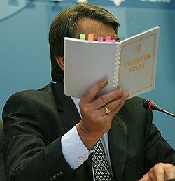 Президент Украины Виктор Ющенко. Загружается с сайта Ъ