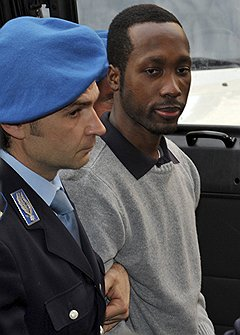 В отличие от признавшего свою вину Руди Геда (на фото) Раффаэле Соллечито считает себя жертвой чудовищной ошибки