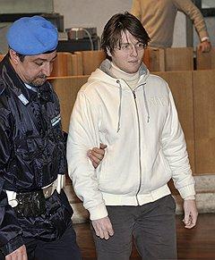 В отличие от признавшего свою вину Руди Геда Раффаэле Соллечито (на фото) считает себя жертвой чудовищной ошибки