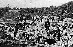 Длинные этапы каторжан были важнейшим элементом благоустройства и хозяйственного освоения Сибири