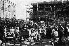 Большинство политических заключенных имело возможность отправиться в Сибирь вместе с семьями (на фото), а в тюрьме или ссылке проводить время в обществе товарищей по борьбе