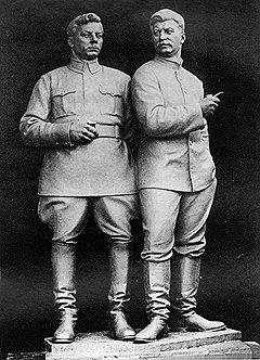 Скульптор Всеволод Лишев значительно опередил время, создав зримый образ тандемократии из доступного в конце 20-х годов материала