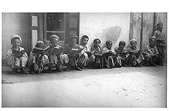 Образованные представители народов советского Востока в детстве успели изучить арабский…