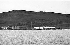 Сообщение с местами будущей дислокации советской стратегической авиации поддерживали небольшой парк гидросамолетов (на фото), корабли Главсевморпути и неисчислимый весельный флот