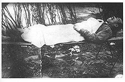 Возвращение блудного красноармейца в РККА существенно облегчалось при предъявлении трупа главаря менее регулярного бандформирования