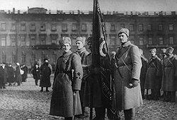 Беззаветность героев, уходящих на фронты Гражданской войны, с тыла подкрепляли бойцы ЧОН (на фото)