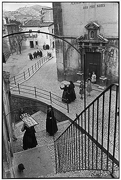 Анри Картье-Брессон. «Абруцци, Италия», 1951