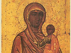 Передача икон церкви иногда имеет неприятные последствия: Торопецкая икона Божией Матери подверглась опасной перевозке из Русского музея