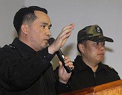 Полиция избавила спасшегося капитана «Чхонана» Чхве Вон Иля (на фото) от неприятного разговора с родственниками утонувших подчиненных