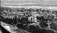 Политика искусственного размножения городов сделала Екатеринодар и Екатеринослав (на фото) похожими не только по названию