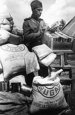 Относительная сытость солдата по сравнению с рабочим породила невиданный прежде вид дезертирства — из тыла на фронт