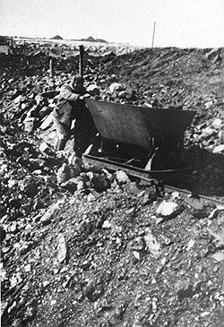 Одиннадцать послевоенных лет рабочие продолжали оставаться на положении крепостных, намертво прикрепленных к орудиям своего труда