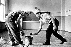 При развитом социализме плата за обучение принимала форму уборщиц и рабочих строительных специальностей