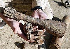 В ходе операции «Моштарак» войска коалиции отвоевали Марджу у повстанцев, но по ночам там продолжают мастерить бомбы из подручных материалов (на фото)