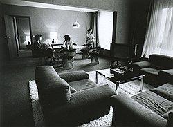 Невиданные прежде советскими людьми интерьеры гостиницы «Космос» весьма располагали их к мелкому воровству на общую сумму 300 тыс. руб.