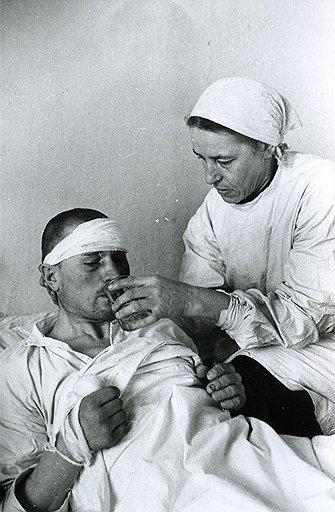 За годы войны через госпитали прошло около 17 млн солдат и офицеров