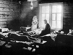 «Простой русский человек больницы считает заведениями, откуда редкий живой выберется, а докторские рецепты — чем-то каббалистическим и, пожалуй, неправославным»