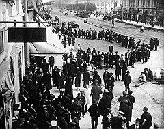 Самую эффективную антисоветскую агитацию среди иностранных друзей СССР произвели советские столовые, магазины (на фото) и другие учреждение по обслуживанию населения